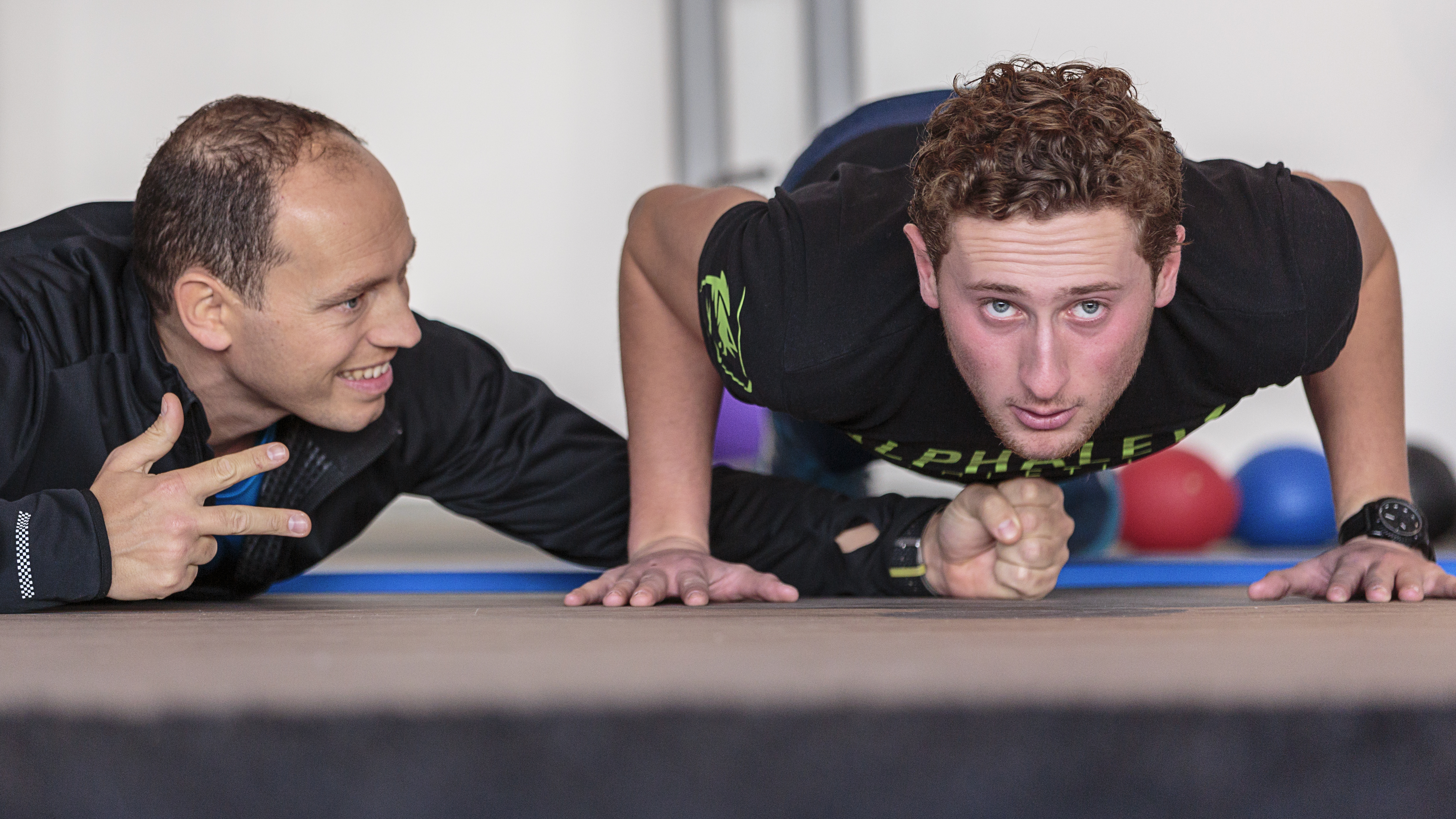 Military Fit, Gino Pasutto, personal trainer in Scheveningen is de expert